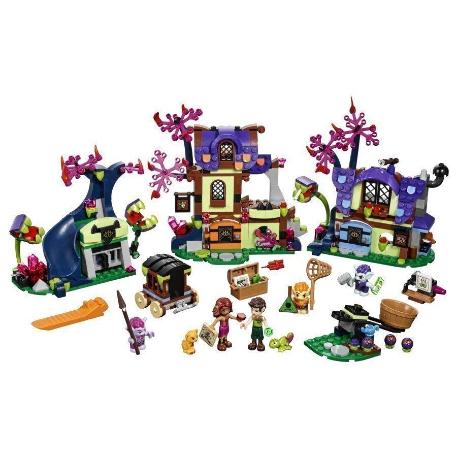 Lego Elves Taianomainen Pelastus Menninkäisten Kylästä 41185