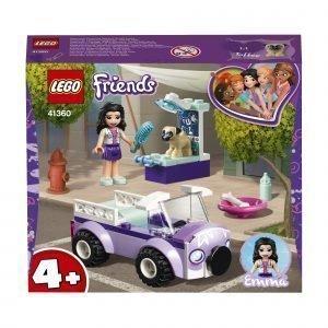 Lego Friends 41360 Emman Liikkuva Eläinsairaala
