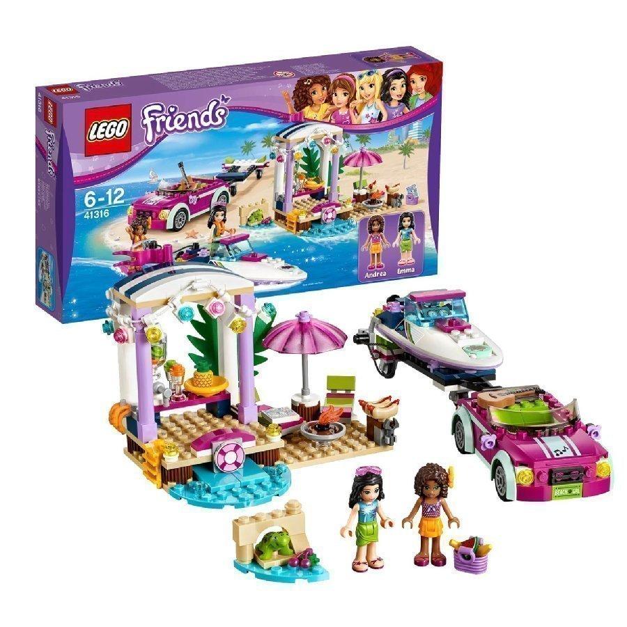 Lego Friends Andrean Pikavenetraileri 41316
