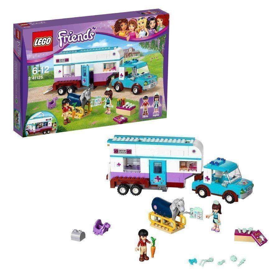 Lego Friends Eläinlääkärin Hevoskuljetusvaunu 41125