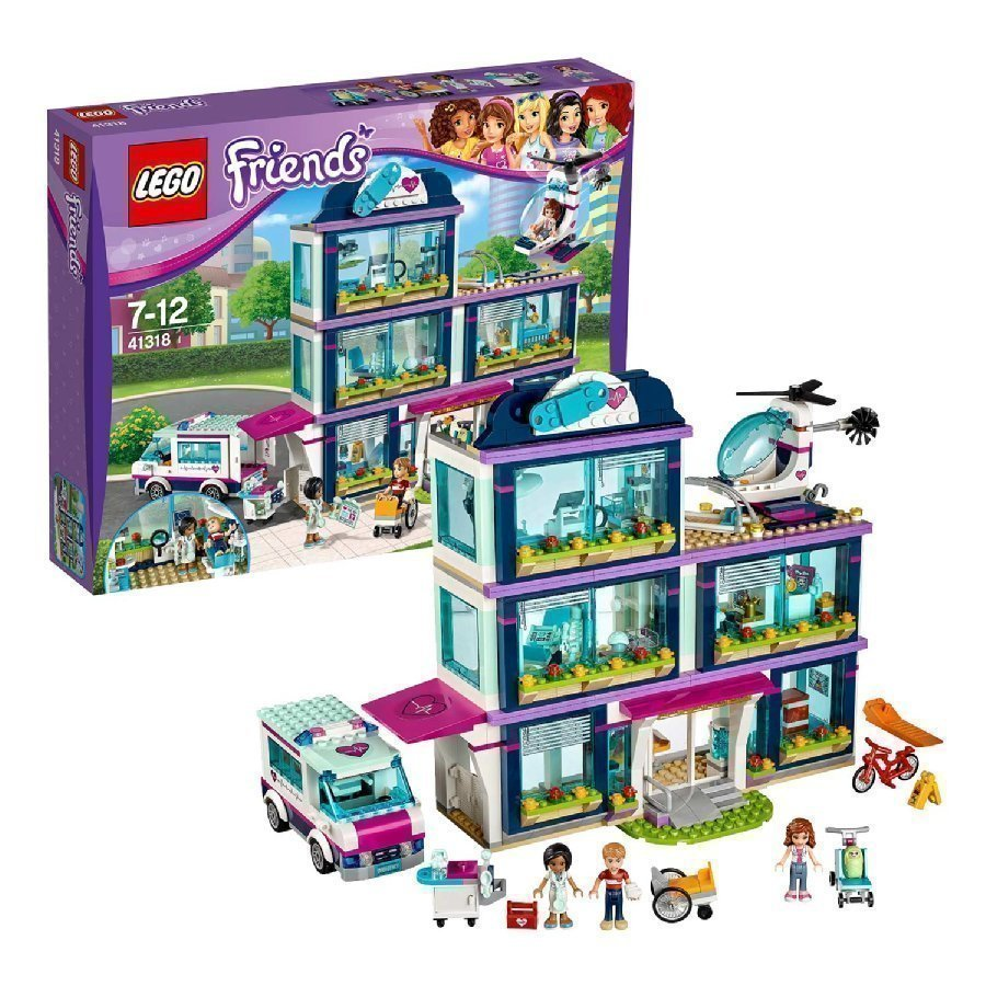 Lego Friends Heartlaken Sairaala 41318