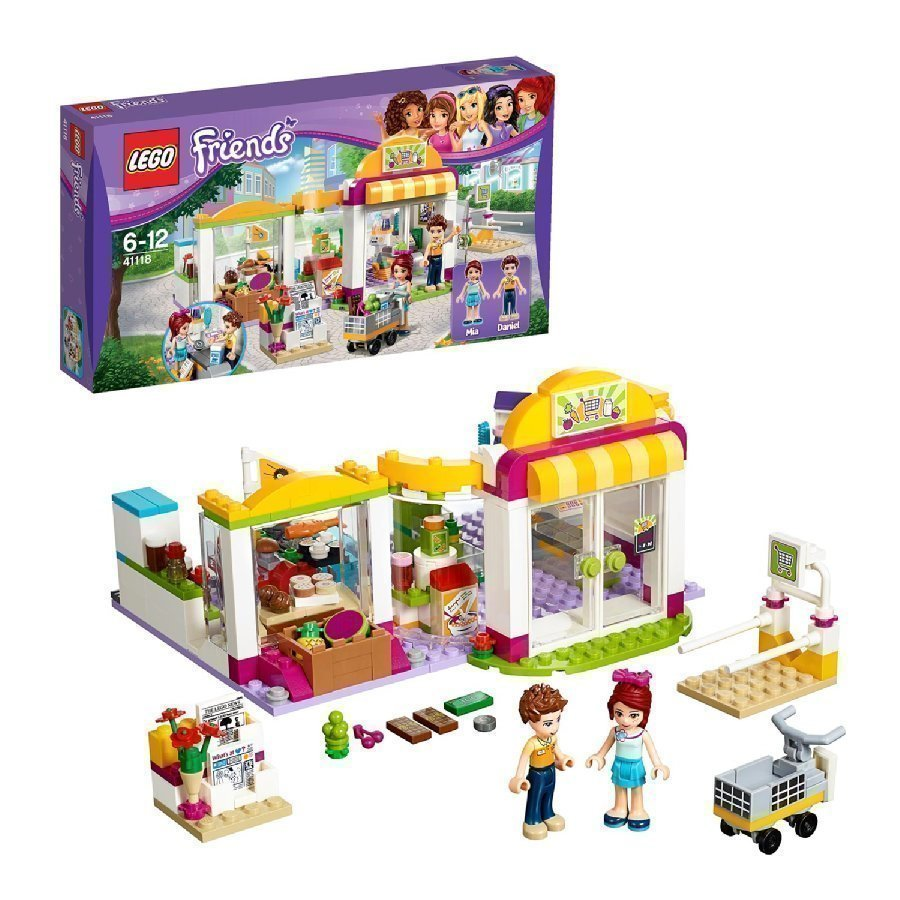 Lego Friends Heartlaken Supermarketti 41118