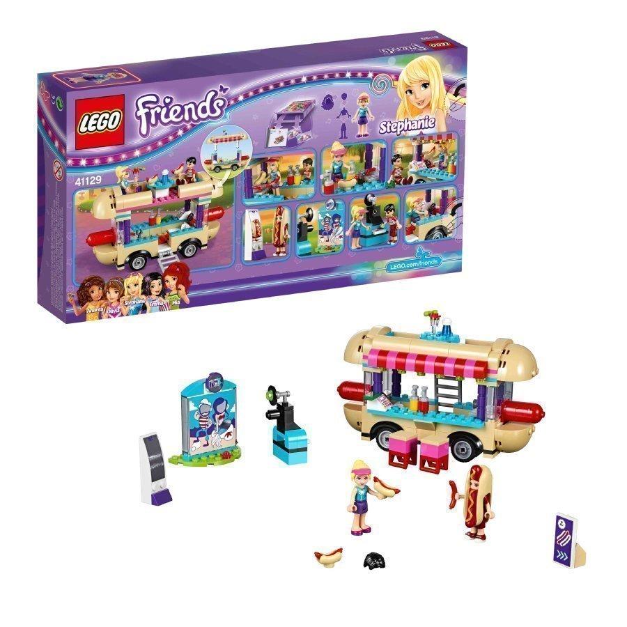 Lego Friends Huvipuiston Nakkisämpyläauto 41129