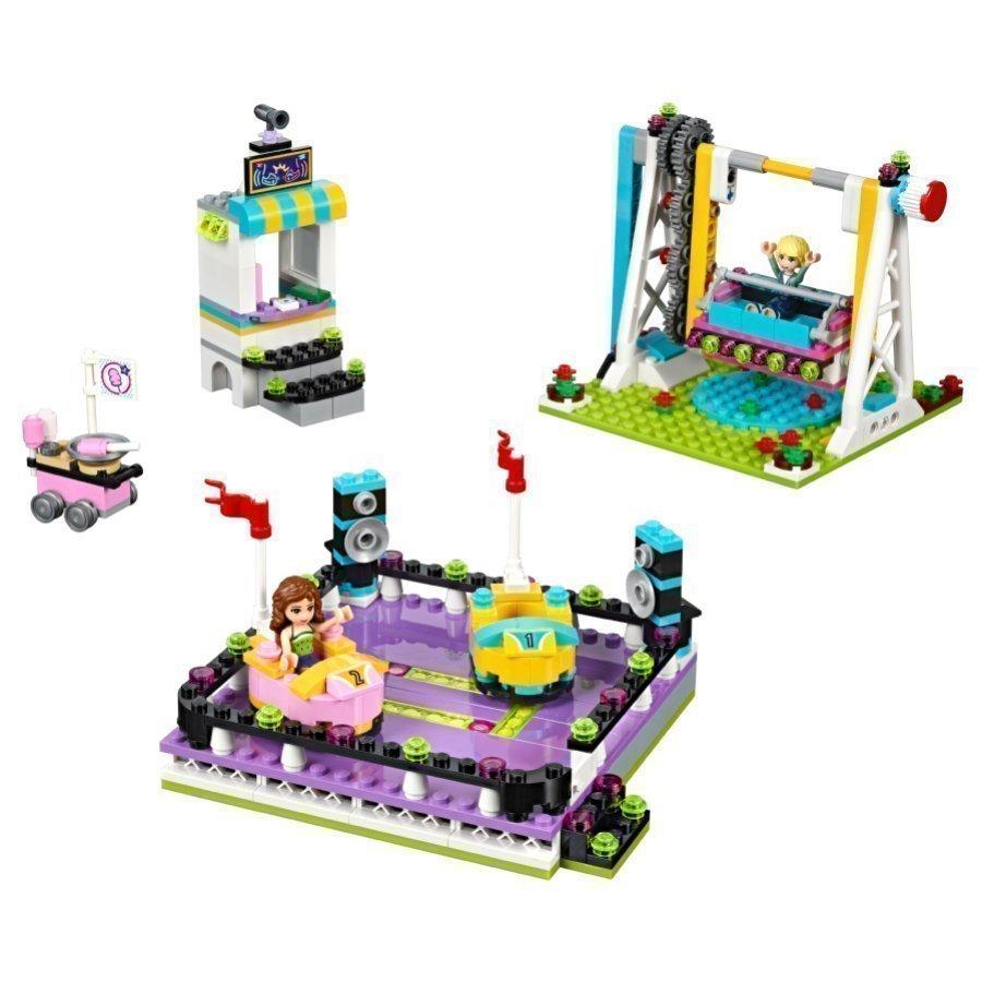 Lego Friends Huvipuiston Törmäilyautot 41133