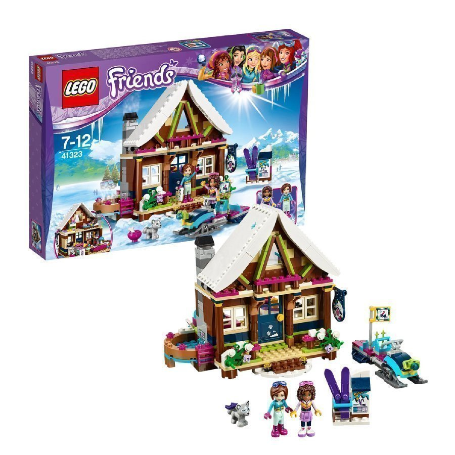 Lego Friends Laskettelukeskuksen Lomamökki 41323