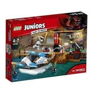 Lego Juniors 10755 Zane Ja Takaa Ajo Ninjaveneellä