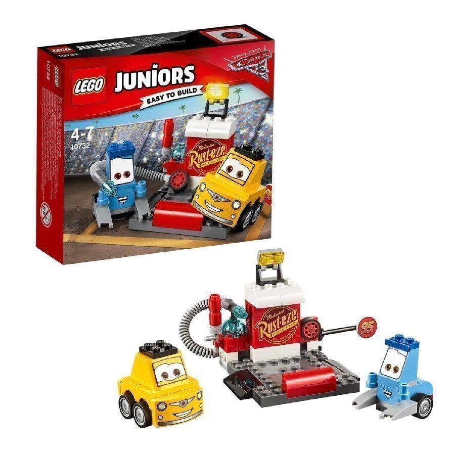 Lego Juniors Cars Guidon Ja Luigin Varikkopysäkki 10732