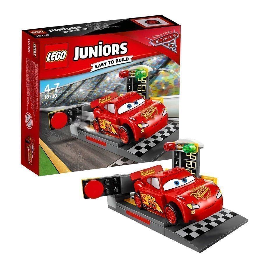 Lego Juniors Cars Salama Mcqueen Ja Vauhtilähtöteline 10730