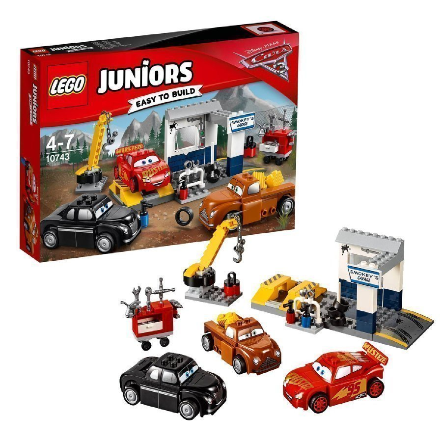 Lego Juniors Cars Smokeyn Autokorjaamo 10743