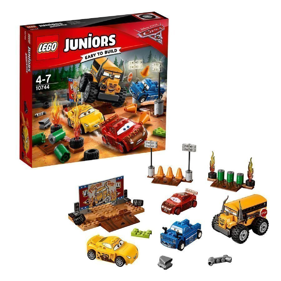 Lego Juniors Cars Thunder Hollow'n Kasiromuralli 10744