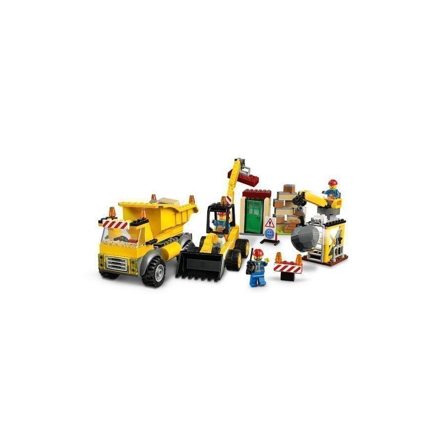 Lego Juniors Iso Työmaa 10734