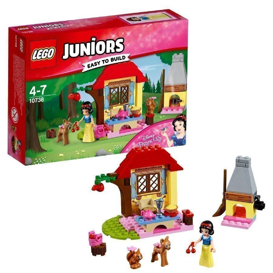 Lego Juniors Lumikin Metsämökki 10738