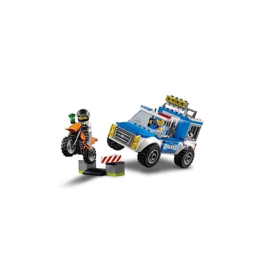Lego Juniors Poliisi Takaa Ajossa 10735