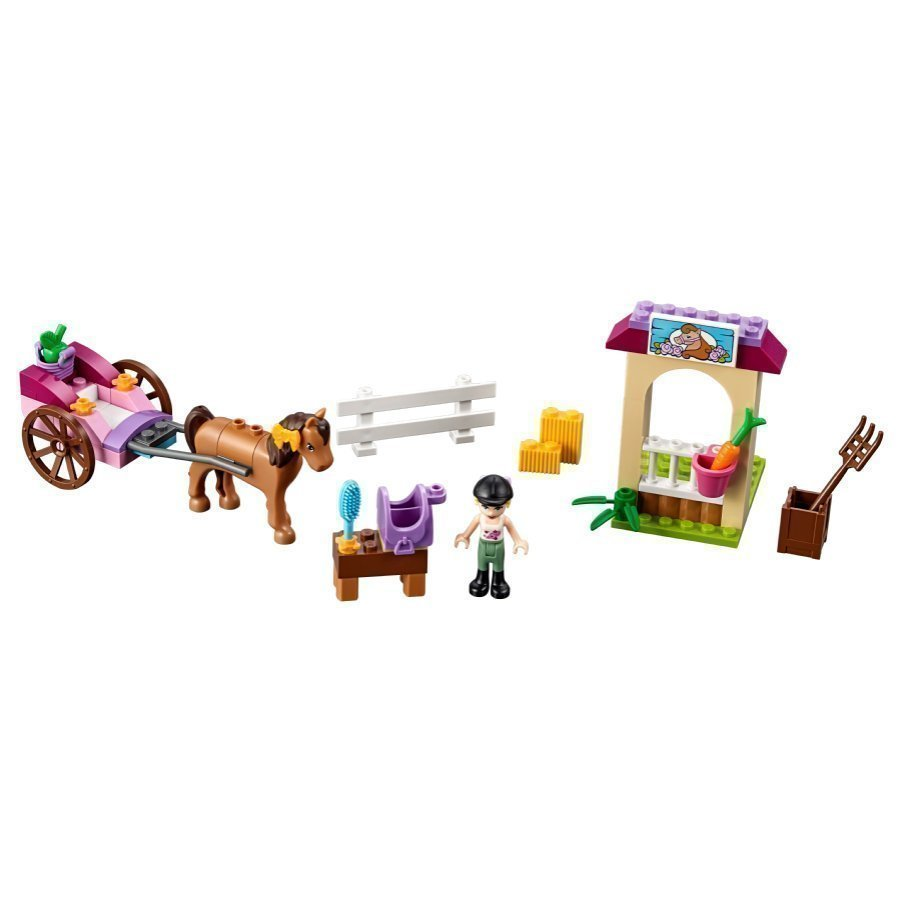 Lego Juniors Stephanien Hevosrattaat 10726