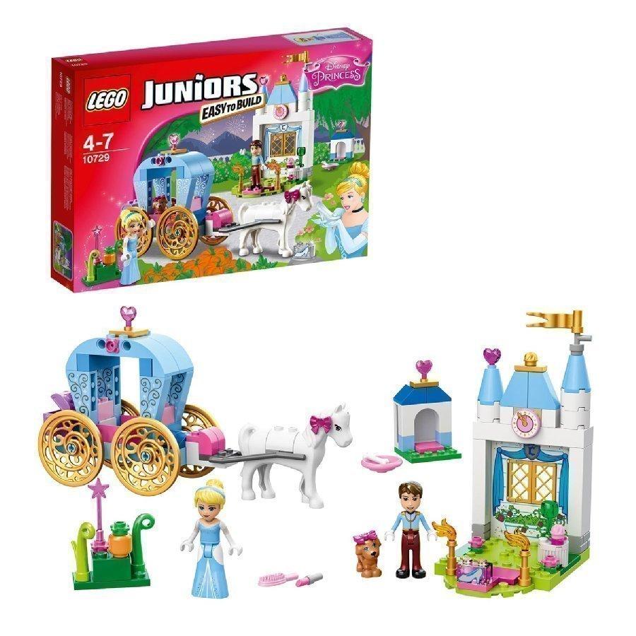 Lego Juniors Tuhkimon Vaunut 10729