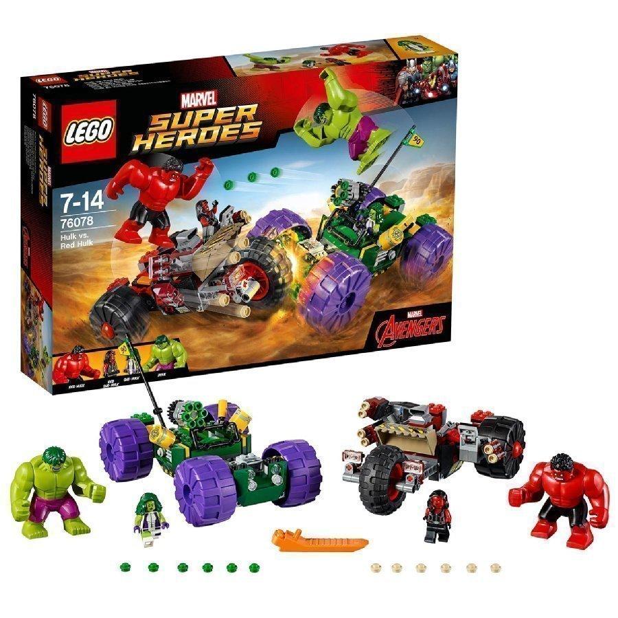 Lego Marvel Super Heroes Hulk Vs. Punainen Hulk 76078