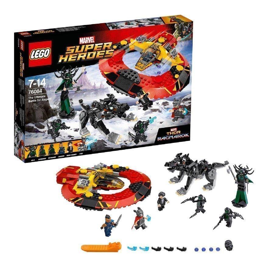 Lego Marvel Super Heroes Hurja Taistelu Asgardista 76084