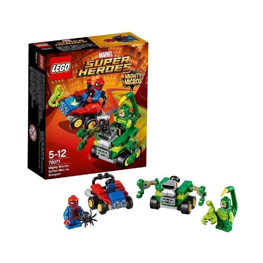 Lego Marvel Super Heroes Mighty Micros Spider Man Vs. Skorpioni 76071