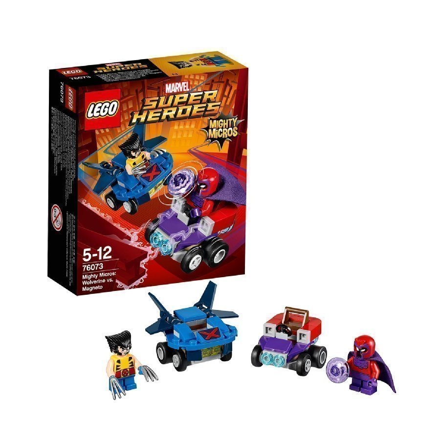 Lego Marvel Super Heroes Mighty Micros Wolverine Vs. Magneto 76073