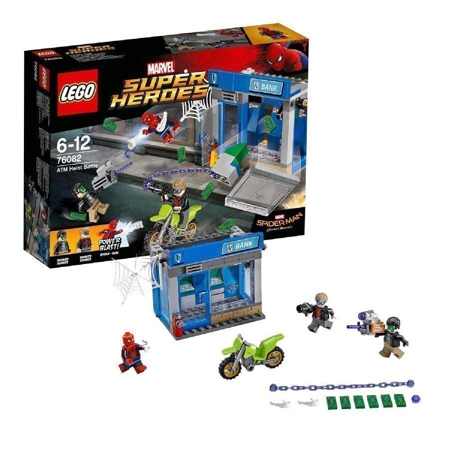 Lego Marvel Super Heroes Pankkiautomaattiryöstötaistelu 76082