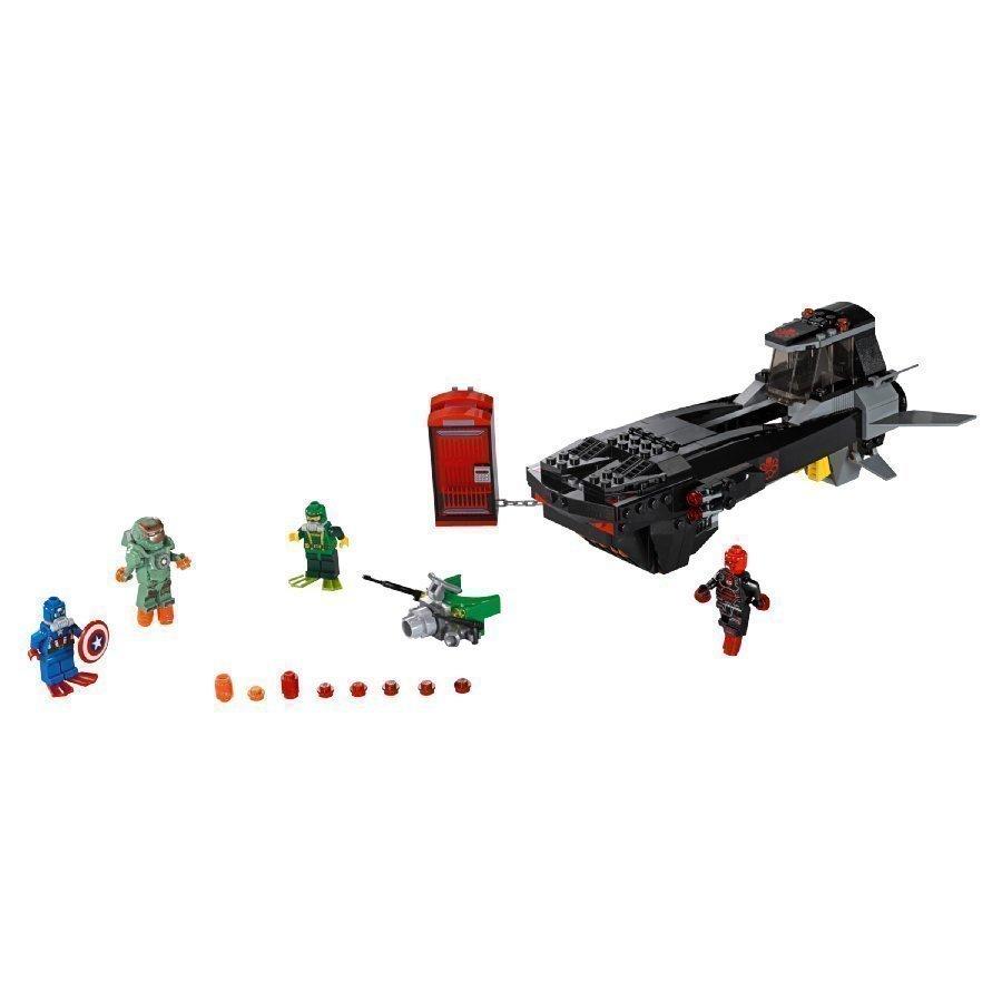 Lego Marvel Super Heroes Rautakallon Hyökkäys Pinnan Alla 76048