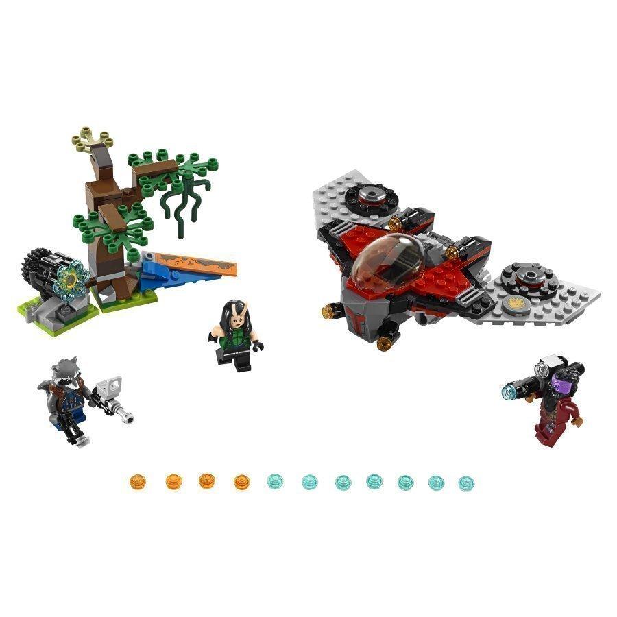 Lego Marvel Super Heroes Ravagerin Hyökkäys 76079