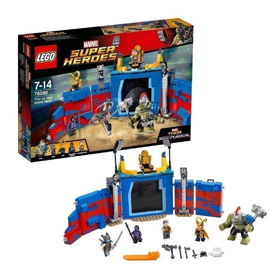 Lego Marvel Super Heroes Thir Vastaan Hulk Taistelu Areenalla 76088