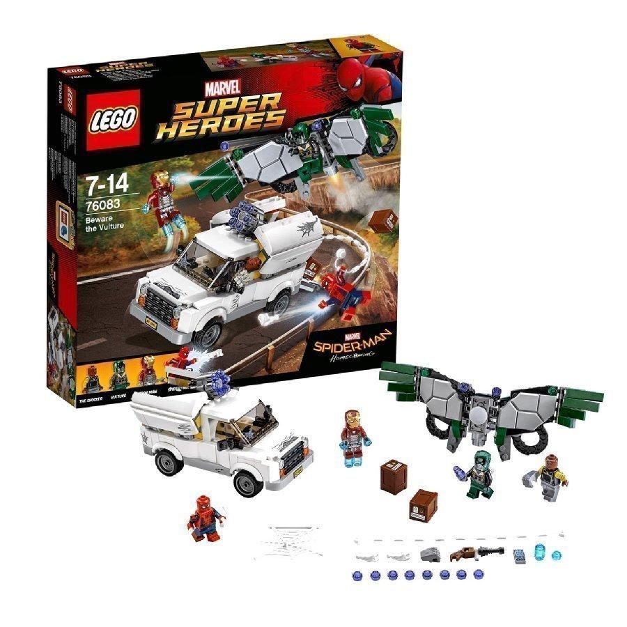 Lego Marvel Super Heroes Varo Korppikotkaa 76083