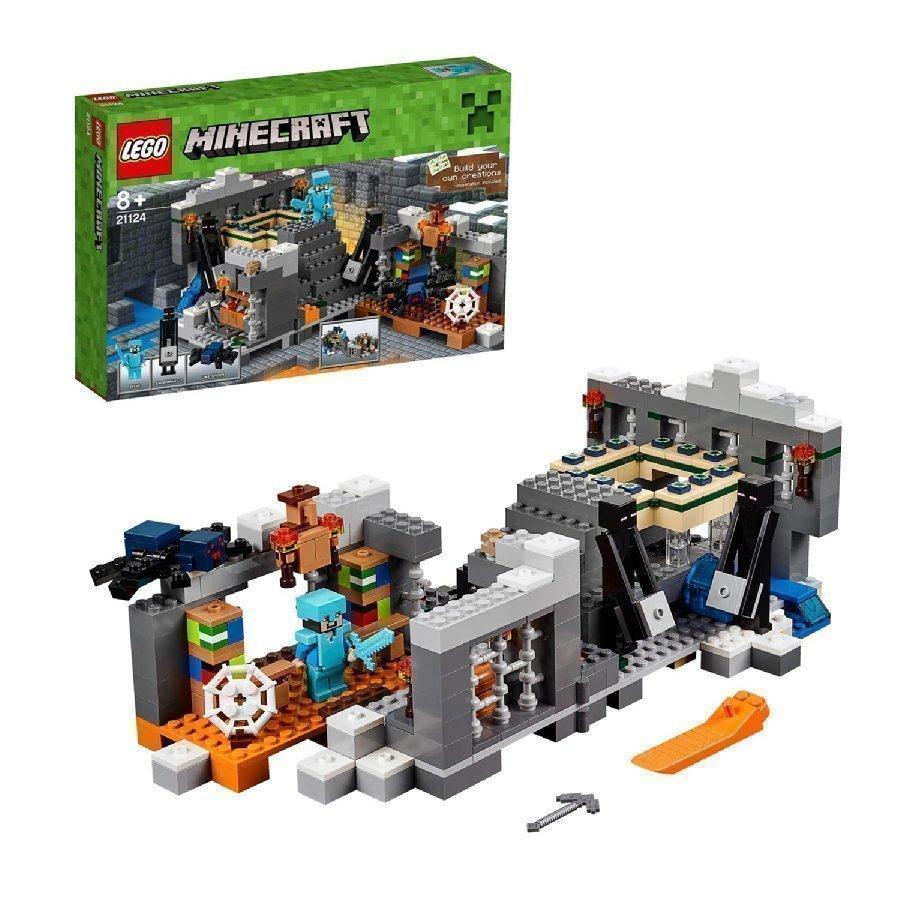 Lego Minecraft Ääriportaali 21124