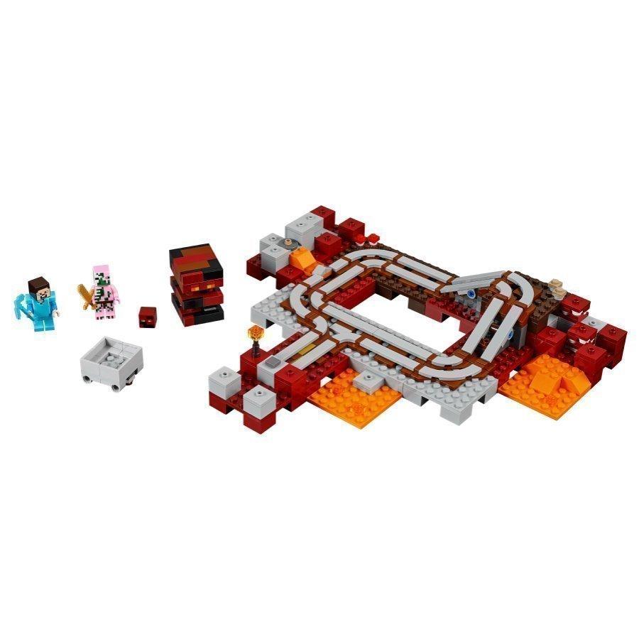 Lego Minecraft Hornarautatie 21130