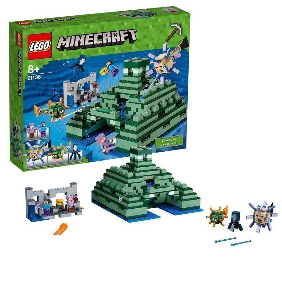 Lego Minecraft Merimonumentti 21136