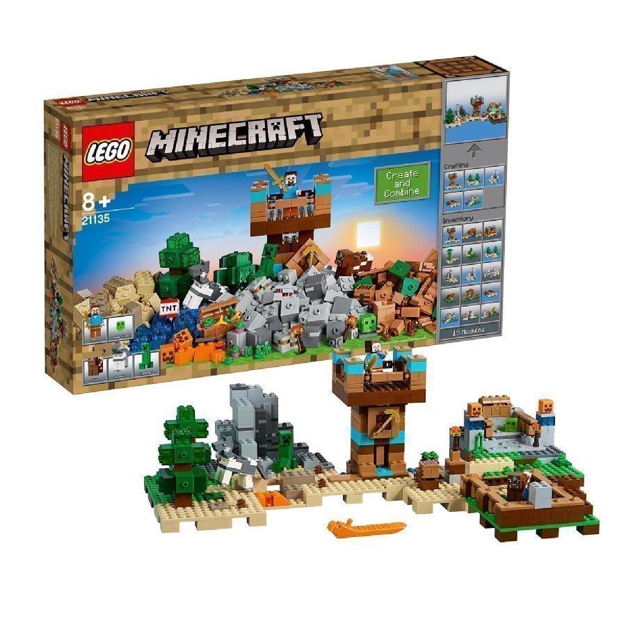 Lego Minecraft Rakennuslaatikko 2.0. 21135