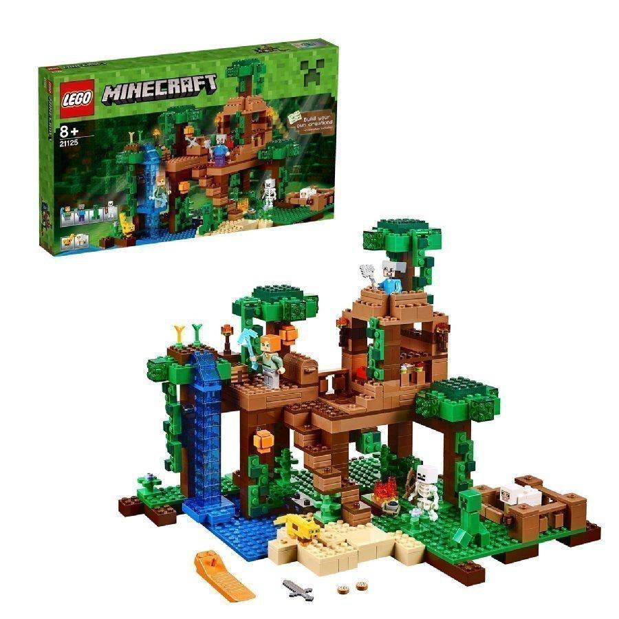 Lego Minecraft Viidakkopuumaja 21125