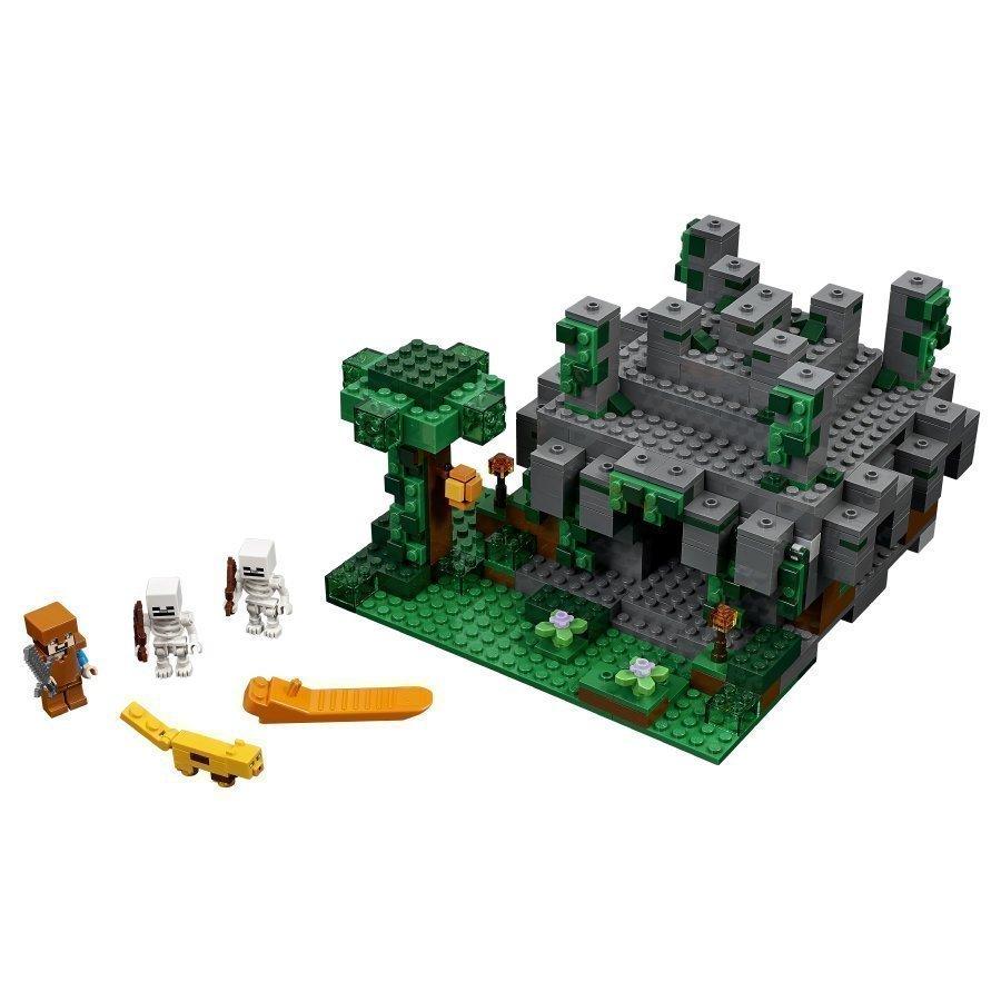 Lego Minecraft Viidakkotemppeli 21132