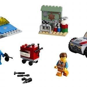"""Lego Movie 70821 Emmetin Ja Bennyn """"Rakenna Ja Korjaa"""" Verstas!"""