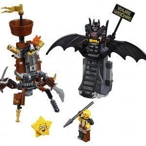 Lego Movie 70836 Taisteluun Valmis Batman Ja Teräsparta