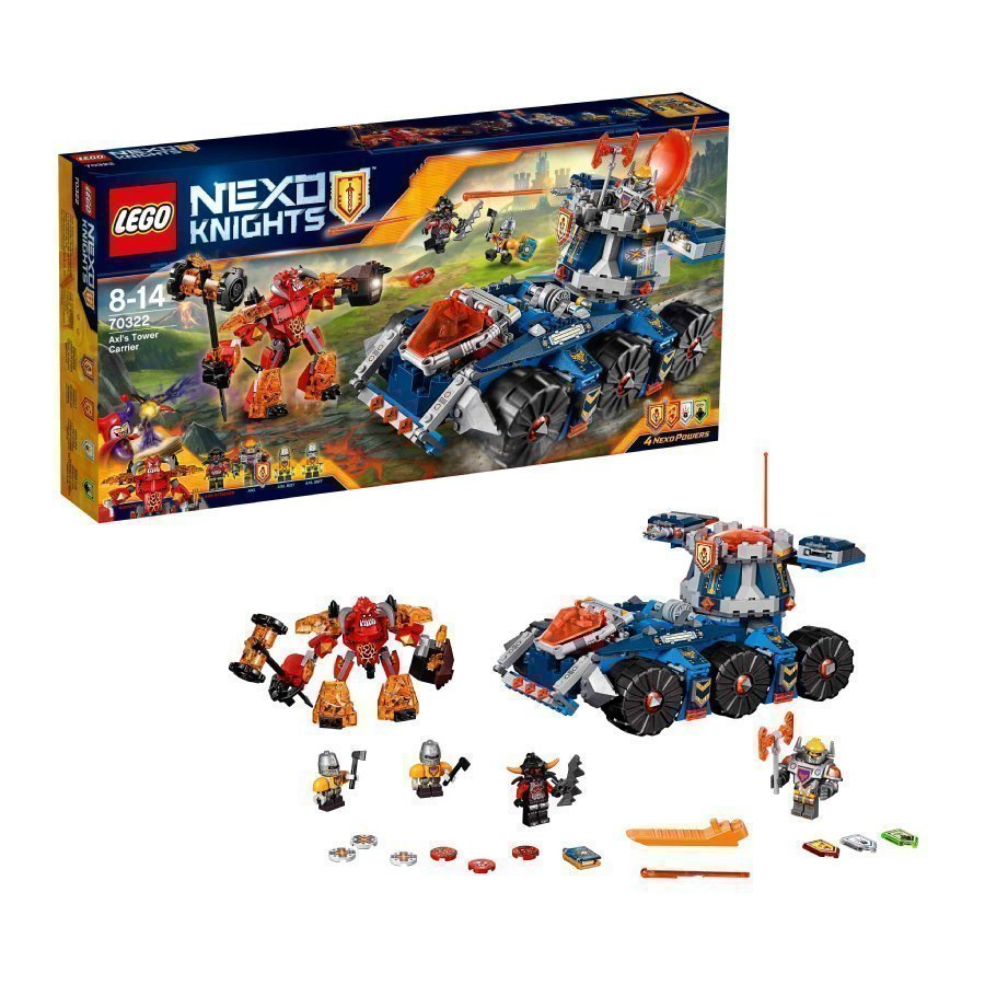 Lego Nexo Knights Axlin Tornitankki 70322