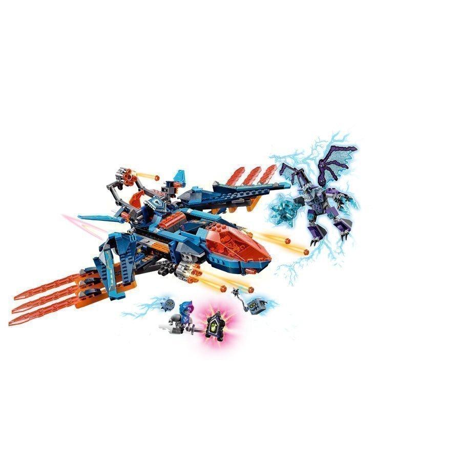 Lego Nexo Knights Clayn Haukkahävittäjäblaster 70351