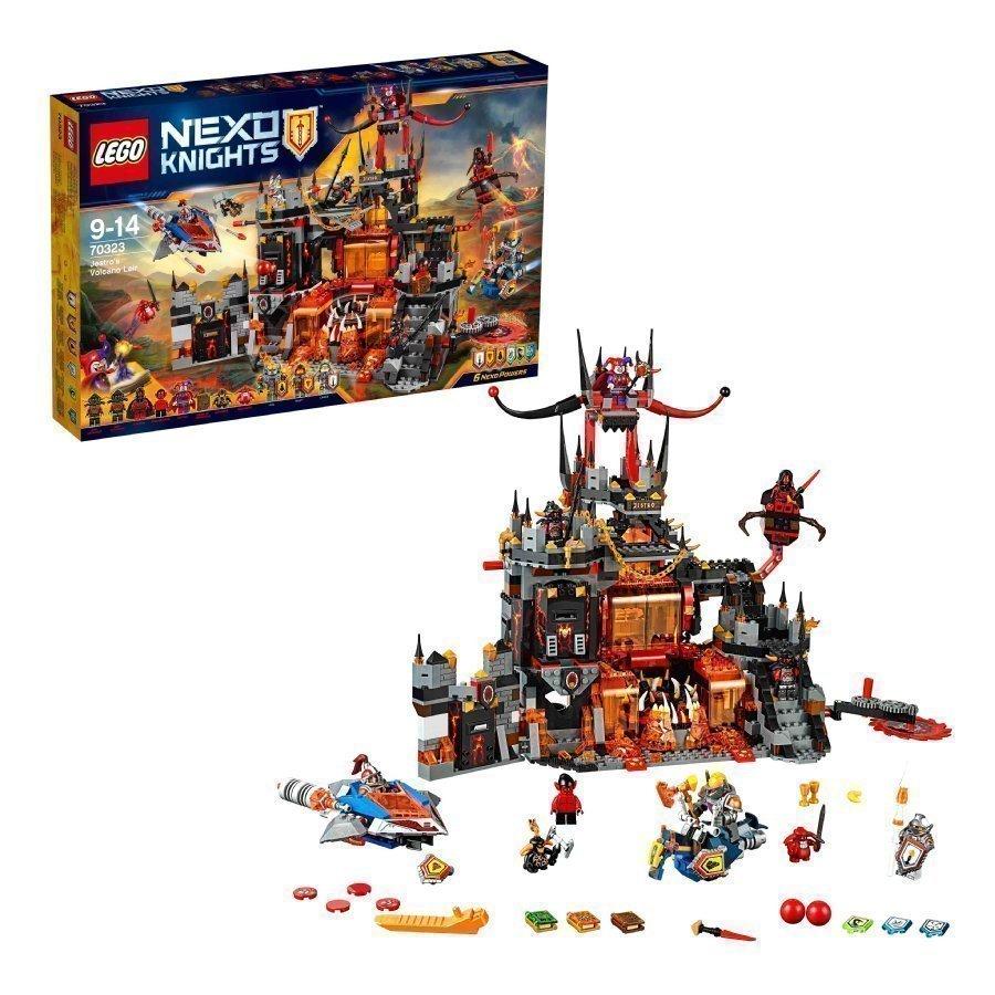 Lego Nexo Knights Jestron Tulivuoriluola 70323