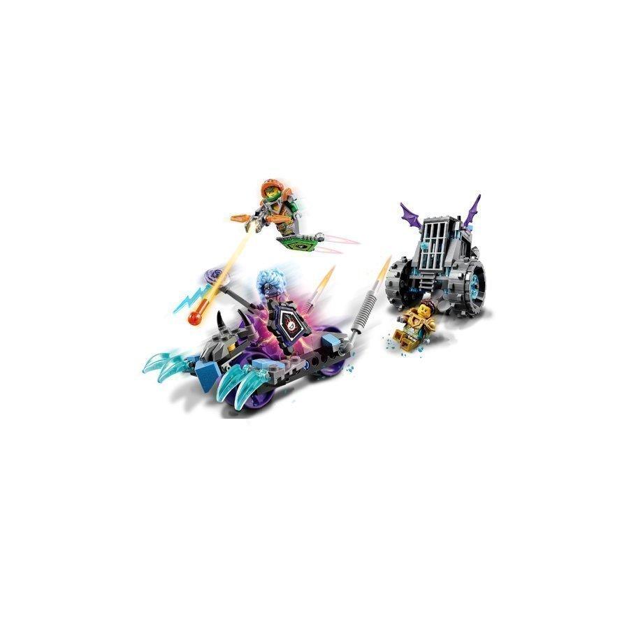 Lego Nexo Knights Ruinan Tyrmä Ja Vyöryjä 70349
