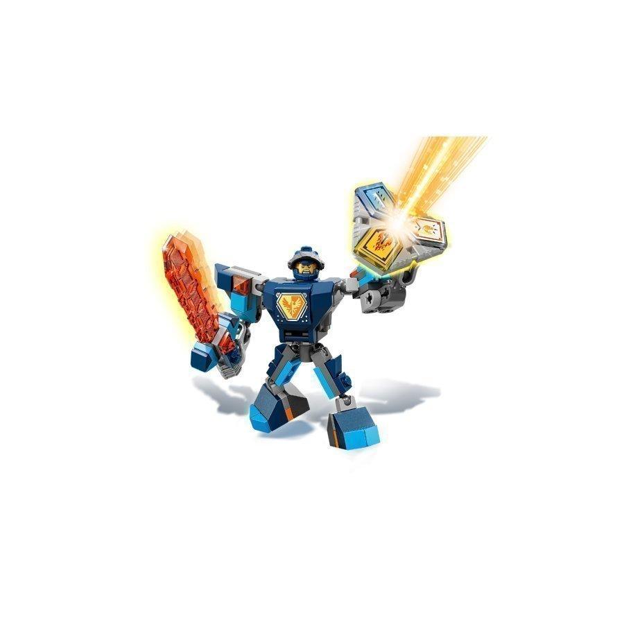 Lego Nexo Knights Taistelupukuinen Clay 70362