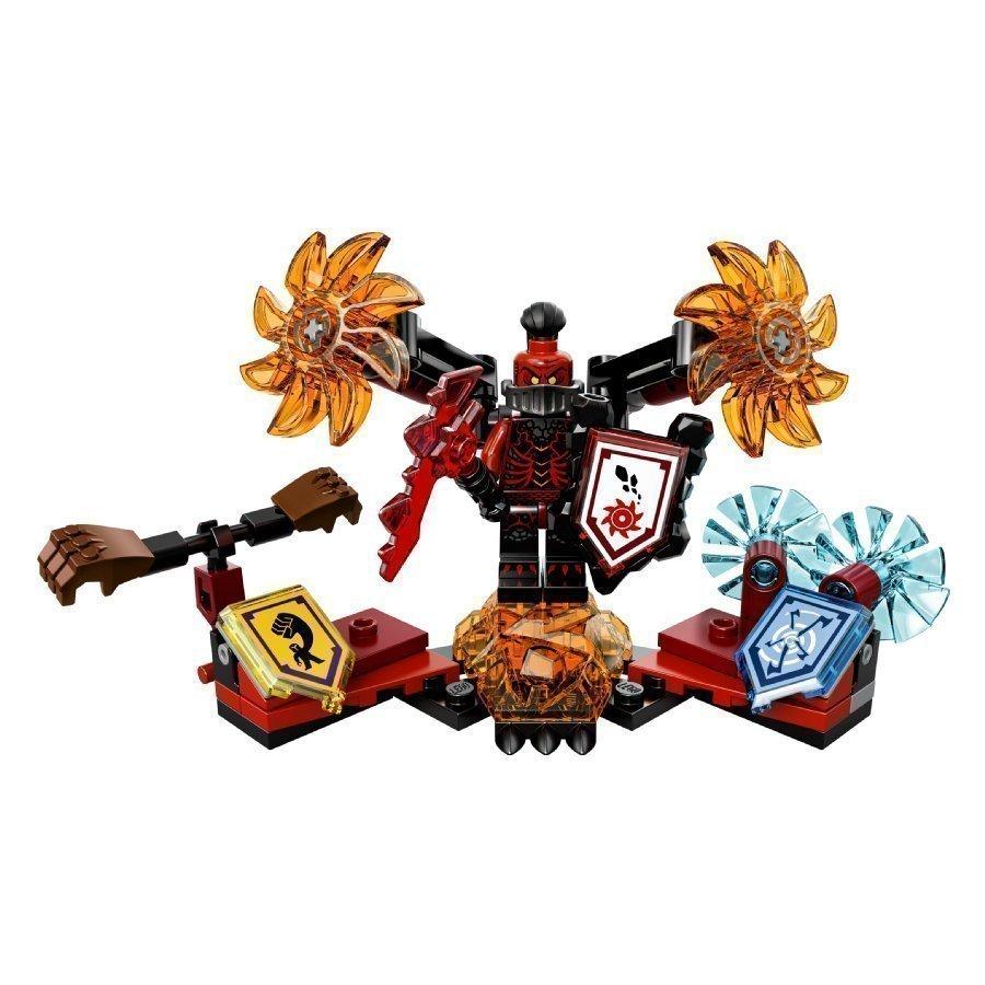 Lego Nexo Knights Ultimate Kenraali Magmar 70338
