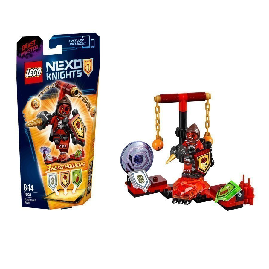 Lego Nexo Knights Ultimate Petojen Herra 70334