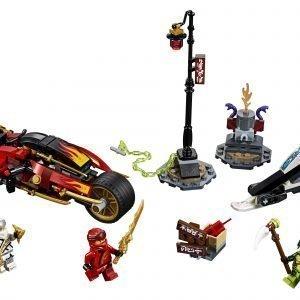 Lego Ninjago 70667 Kain Miekkapyörä Ja Zanen Moottorikelkka