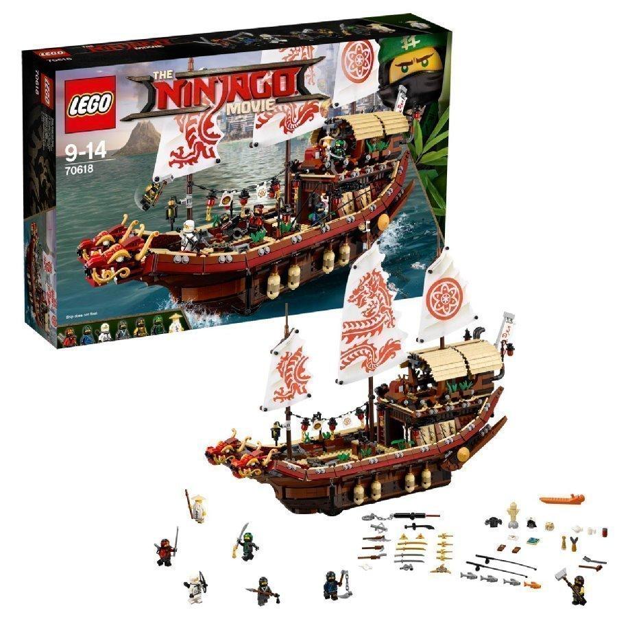 Lego Ninjago Kohtalon Alus 70618