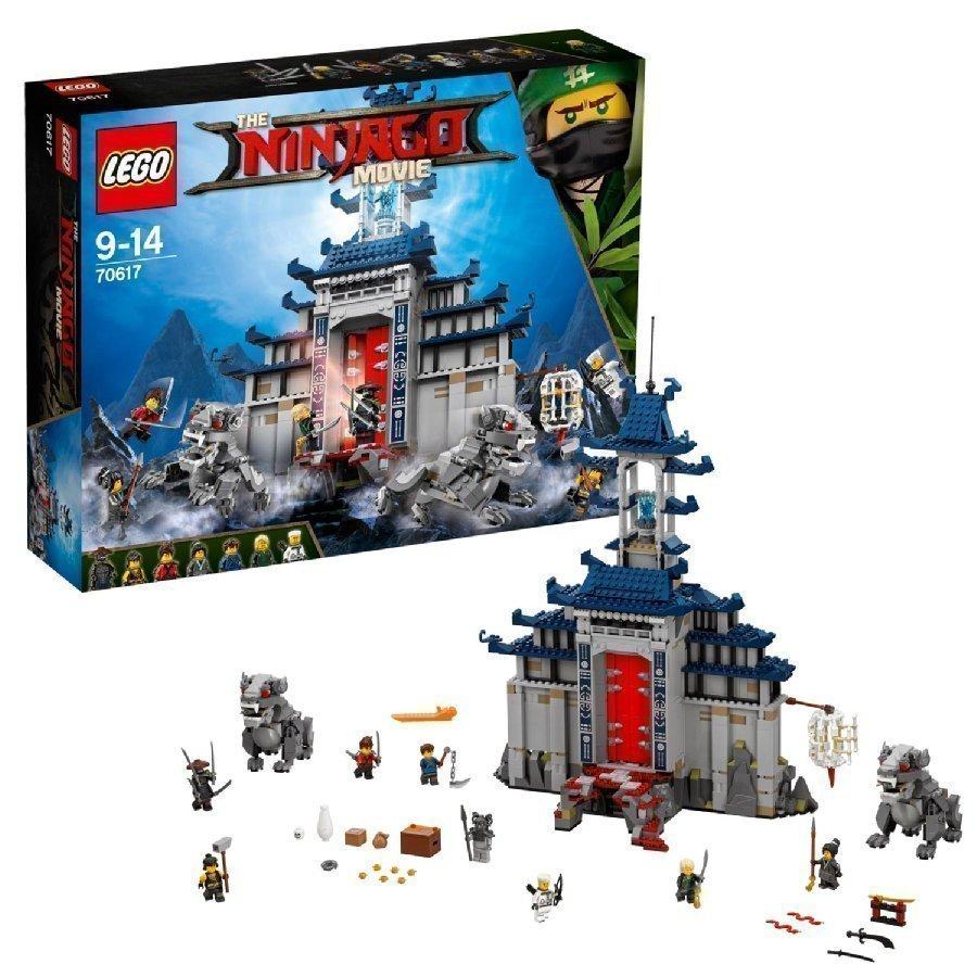 Lego Ninjago Mahtavimmista Mahtavimman Aseen Temppeli 70617