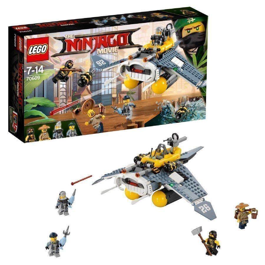Lego Ninjago Manta Ray Pommikone 70609