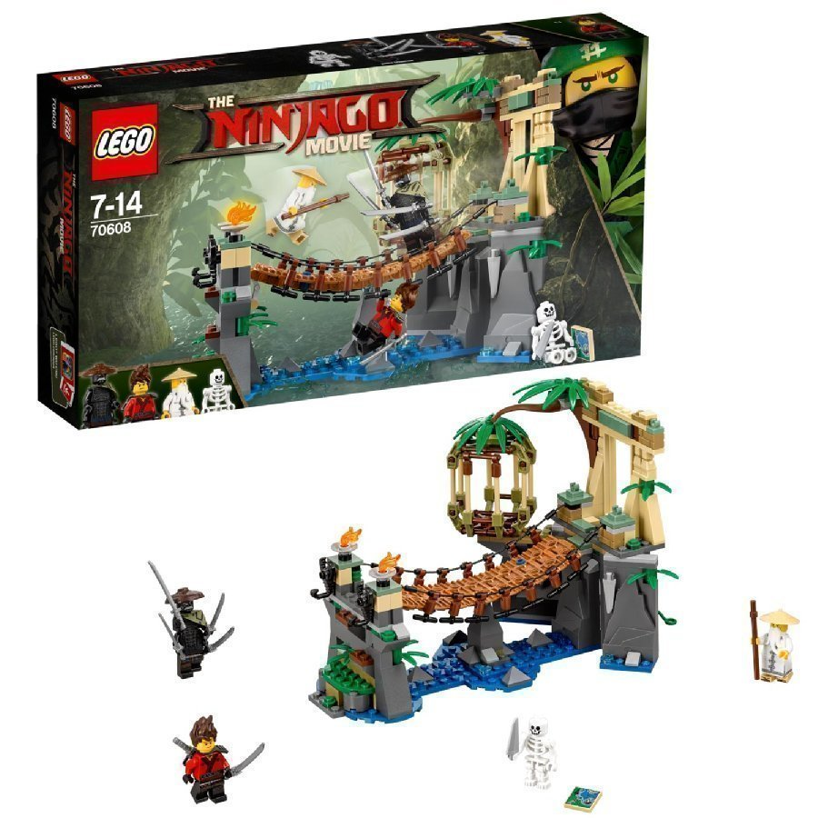 Lego Ninjago Mestari Putoaa 70608