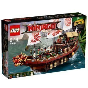 Lego Ninjago Movie 70618 Kohtalon Alus