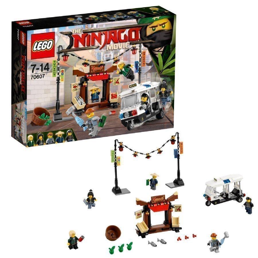 Lego Ninjago Takaa Ajo Ninjago Cityssä 70607